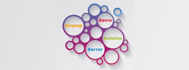 Sqoop Import in Avro Files